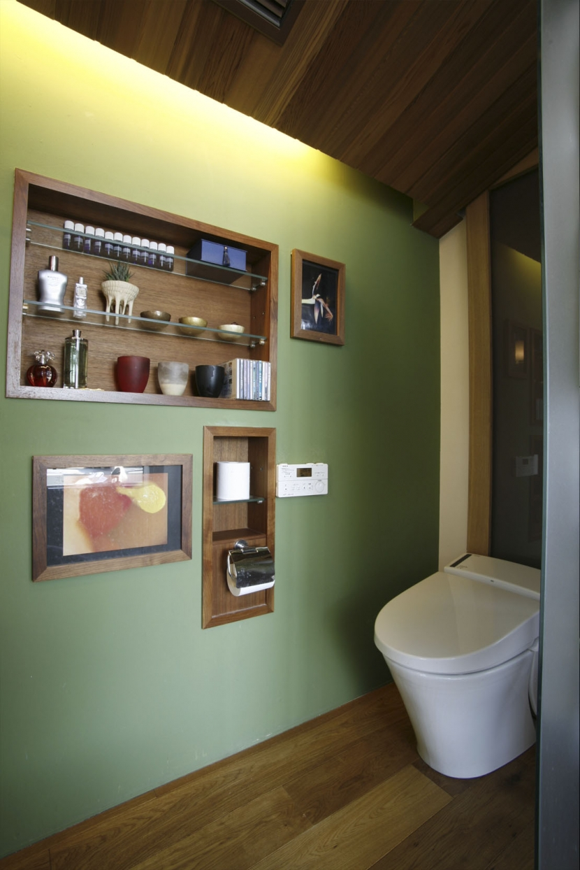 Kb邸の部屋 トイレ