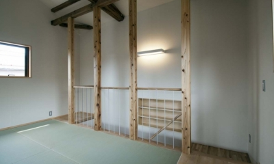 石引の家 築30年の住宅をガルバリウムで軽量化 (2階フリースペース)