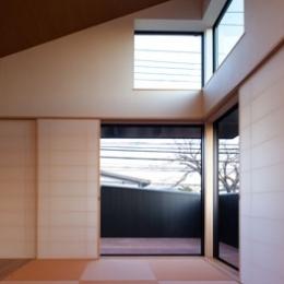 さんかくテラスの家 (さんかくテラスの家_LDK1)