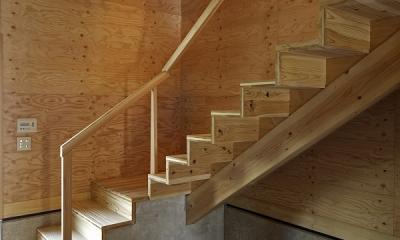 K氏のアトリエ (階段)