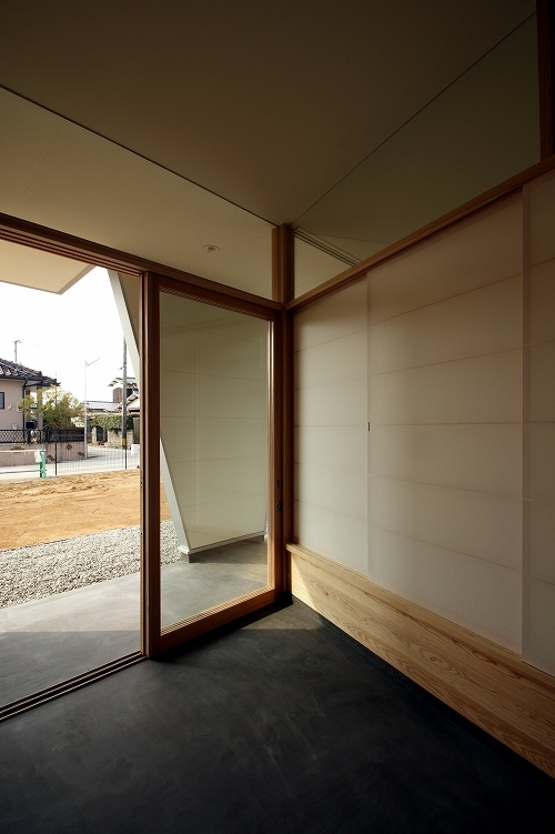 福岡・Xの部屋 玄関土間