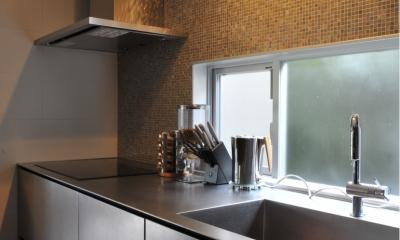美しが丘の家改修 (キッチン)