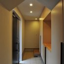 二世帯住宅の玄関