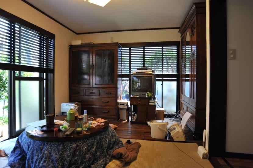 杉田の家改修の部屋 居間
