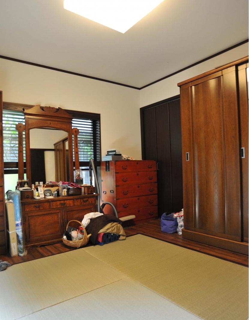 杉田の家改修の部屋 寝室