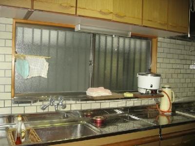 キッチン before (築28年の家を購入しリノベーション 籠原の家)