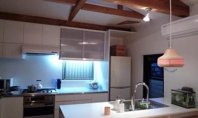 築28年の家を購入しリノベーション|籠原の家 (キッチン|after)