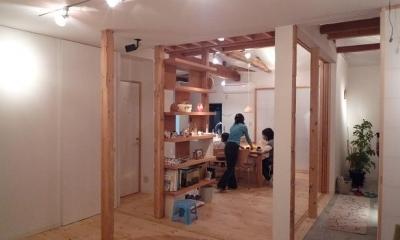 築28年の家を購入しリノベーション|籠原の家 (リビング|after)