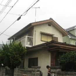 外観|before (築28年の家を購入しリノベーション|籠原の家)