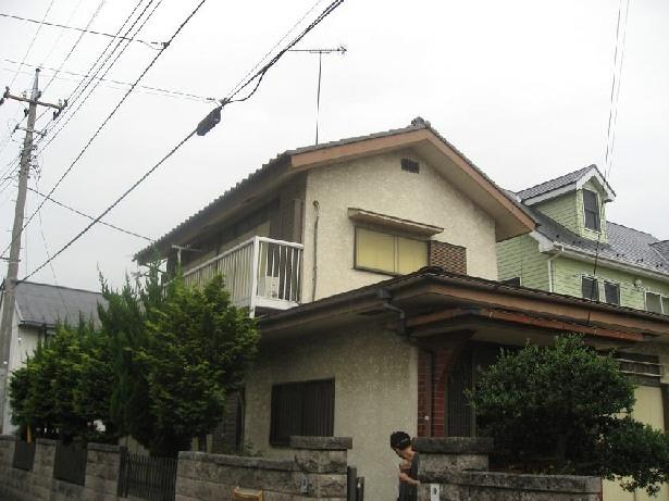 築28年の家を購入しリノベーション|籠原の家 (外観|before)