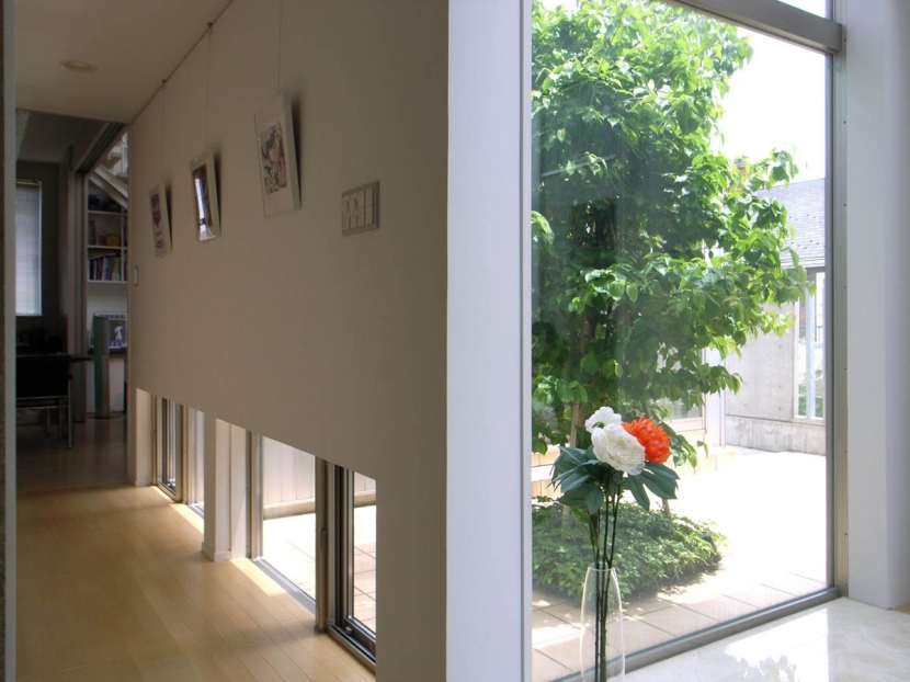 建築家:家山 真「久安の家|プライベートな外部空間を持つ家」