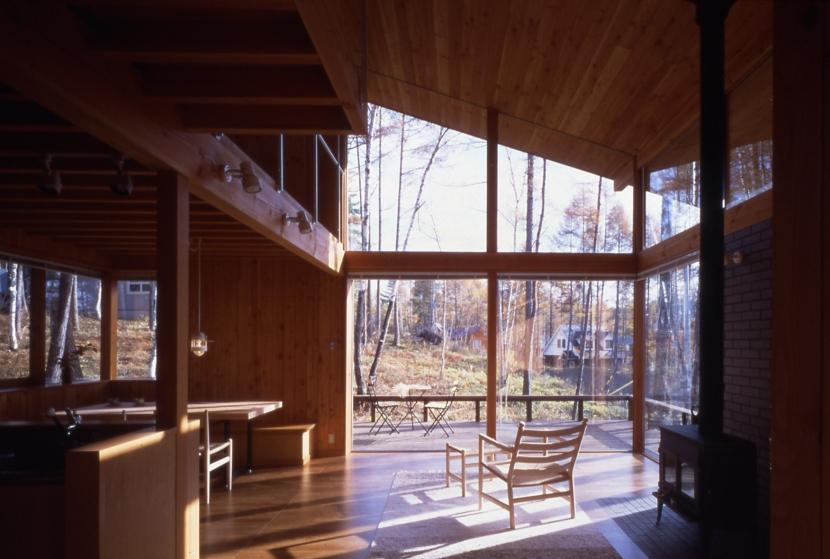 建築家:長浜信幸「鳴岩の山荘」
