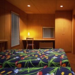 鳴岩の山荘 (寝室)