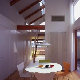 1、2階で住み分ける完全分離型の2世帯住宅