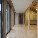 家山 真の住宅事例「南砺市の家|砺波平野に建つ夫婦二人のための平屋住宅」