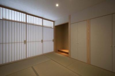 和室 (南砺市の家|砺波平野に建つ夫婦二人のための平屋住宅)