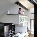 岡本 浩の住宅事例「ふたつの家族と中庭の家」
