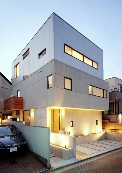 建築家:内山章「HOUSE SW」