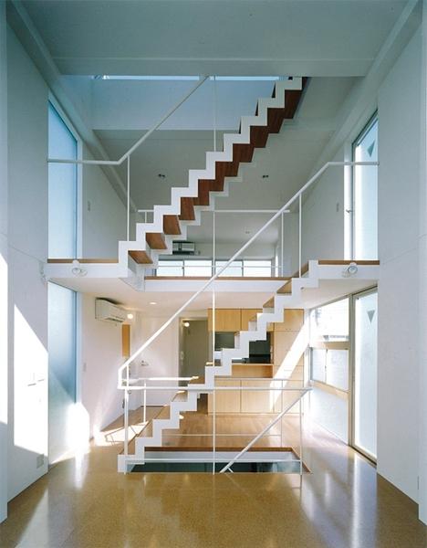 HOUSE T-Tの部屋 階段