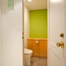 趣味を存分に楽しめる空間作り「Beach Style リノベーション」の写真 トイレ