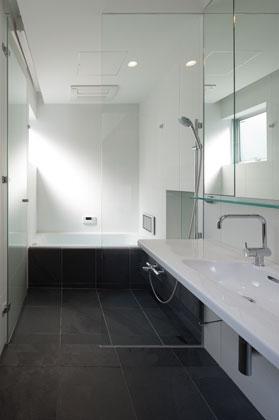 スキップフロアの家の部屋 スキップフロアの家_浴室