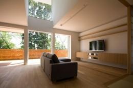 光と眺望を楽しむ家 (光と眺望を楽しむ家_LDK1)