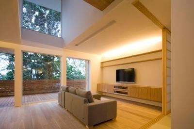 光と眺望を楽しむ家_LDK3 (光と眺望を楽しむ家)