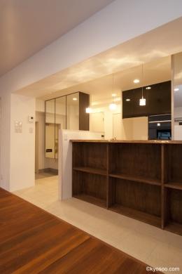 Um-House (living room / dining room)