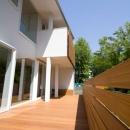 光と眺望を楽しむ家