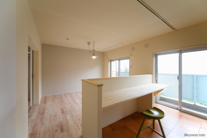 Hr-Houseの部屋 kitchen / living room / dining room