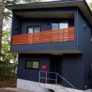 軽井沢の別荘の写真 ガルバリウム鋼板の外観2