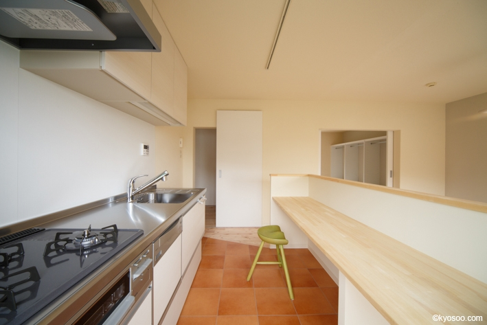 Hr-Houseの部屋 kitchen