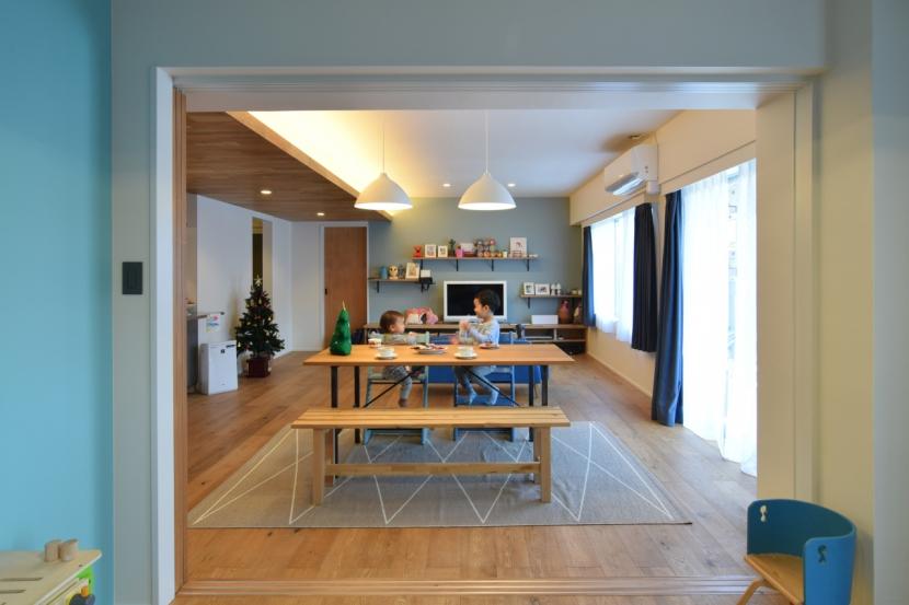 リノベーション・リフォーム会社:エキップ「「秘密基地」のある富ヶ谷の家」