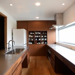 食器棚 (F邸 キッチン改修 | HOUSE F Renovation I)
