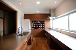 F邸 キッチン改修   HOUSE F Renovation I (食器棚)
