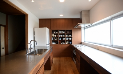 F邸 キッチン改修 | HOUSE F Renovation I (食器棚)