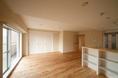 Td-House (living room / dining room)