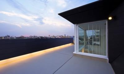 屋上|湯里の家