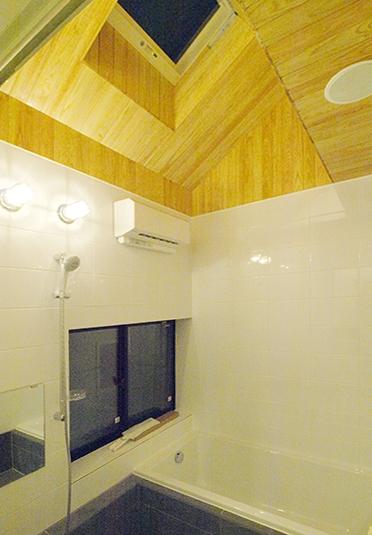 エアコンのない家 (浴室のトップライト)