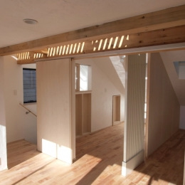 エアコンのない家 (3階ロフトのある共有スペース)