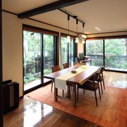 リノベーション・リフォーム会社 ハイブリッドホームの住宅事例「横浜市S邸:戸建て1階全面リフォーム」