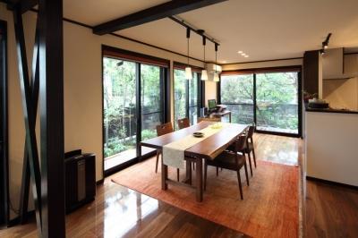 横浜市S邸:戸建て1階全面リフォーム (ダイニング)