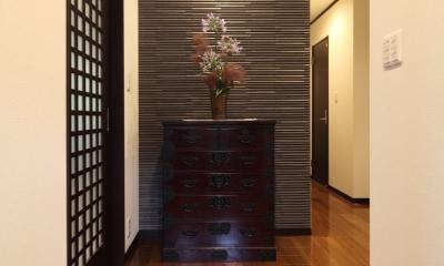 玄関ホール 横浜市S邸:戸建て1階全面リフォーム