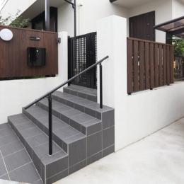横浜市S邸:戸建て1階全面リフォーム (外構門塀)
