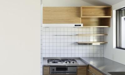 下北方の家/宮崎市の住宅 (キッチン)