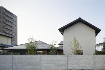 霧島町の家/宮崎市の住宅 (北側全景)