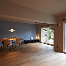 多摩センターの家/東京のリノベーション (リビングダイニング02)