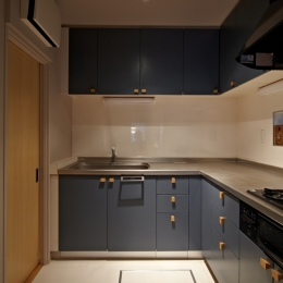 多摩センターの家/東京のリノベーション (キッチン)