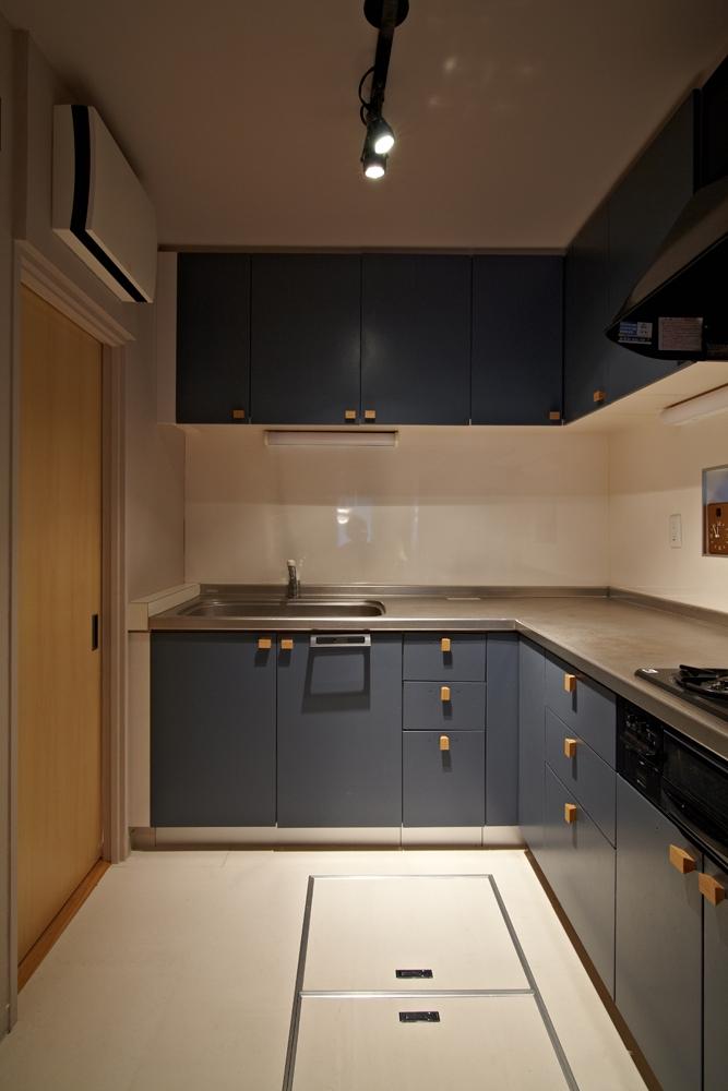 多摩センターの家/東京のリノベーションの部屋 キッチン