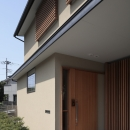 緑陰を愉しむ家の写真 玄関ポーチ